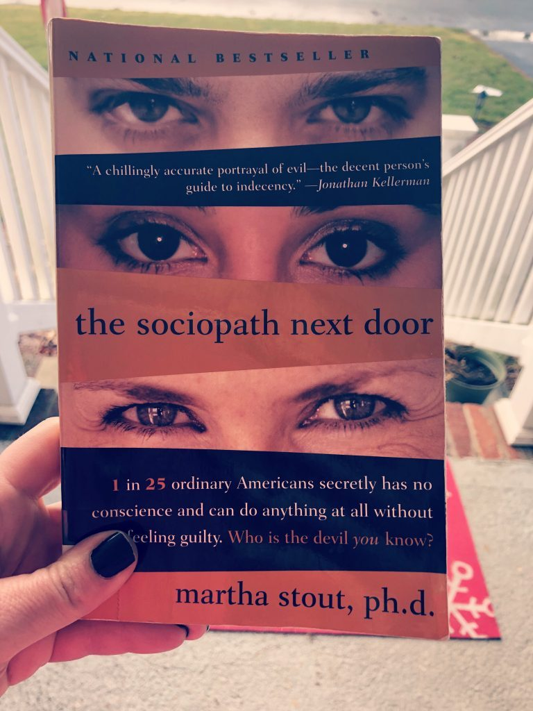 Novel The Sociopath Next Door